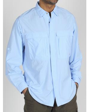 Men's ExOfficio BugsAway Halo long-sleeve shirt horseback riding apparel review