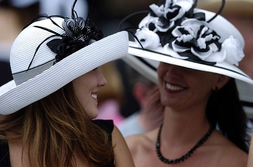 Hats and horses are in fashion at the Kentucky Derby