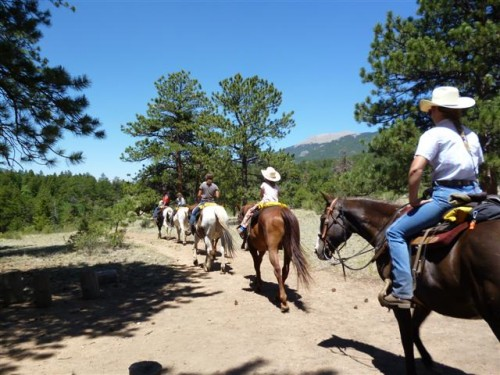 Come to North Fork Ranch for a horseback riding vacation in Colorado's  Platte River valley