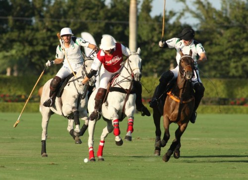 Coco Cola vs Villa Del Lago polo match