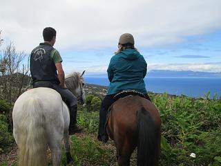 horse ride Pico Island, Portugal