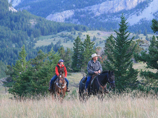 Pine Butte Ranch riders