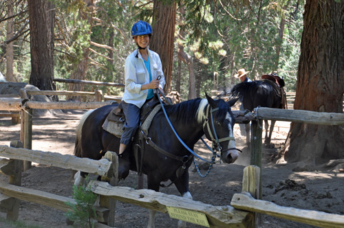 Shelly Rivoli horseback