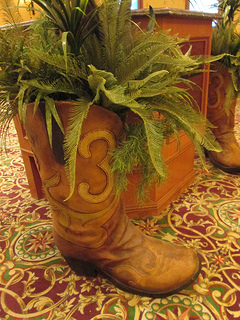 """cowboy boots """"South Point Hotel"""""""