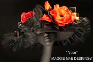 Noor hat, Maggie Mae Designs