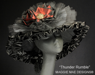 "Thunder Rumble Hat, ""Maggie Mae Designs"""