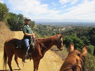 """Garrod Stables"" horseback riding"