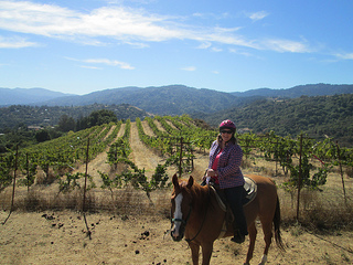 Garrod Farms, horseback riding