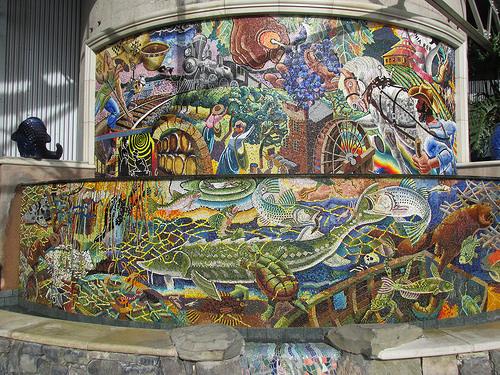 """Alan Schepp"" ""Napa River Mosaic"""