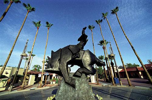 """""""Jack Knife"""" equine sculpture"""
