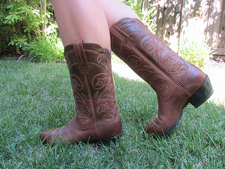 """Ariat"" boot"