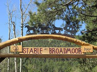 """Stables at the Braodmoor"" Colorado Springs"