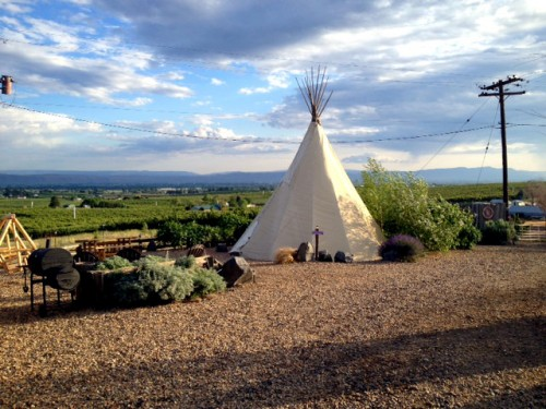 """Yakima Valley"" teepee"