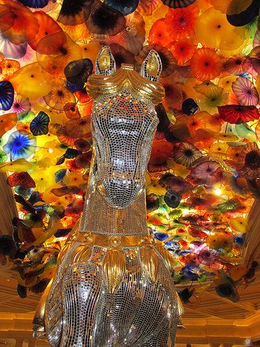Bellagio Las Vegas, horse