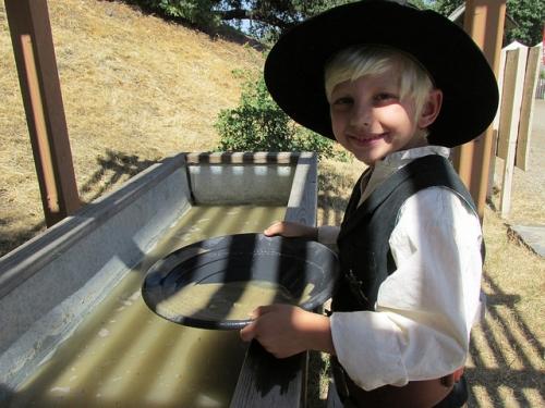 Ryland Keenan, Santa Clarita Cowboy Festival, gold panning