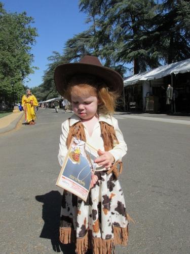 cowgirl, Santa Clarita Cowboy Festival