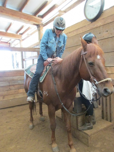 horseback riding, joint replacement, dream ridge stables