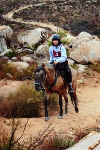 Elfin Forest Competitive Trail Ride Escondido, California