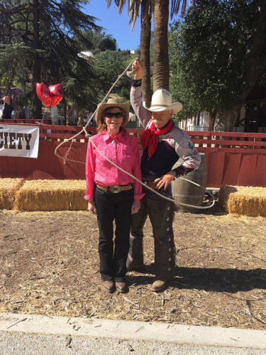 dave thronbury, nancy brown, santa clarita cowboy festival