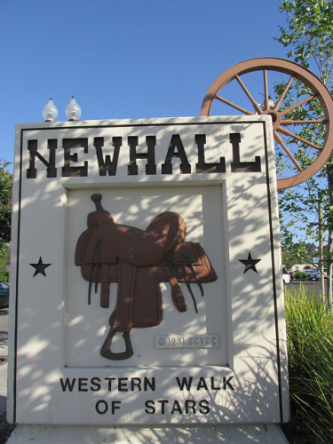 newhall, western walk of stars