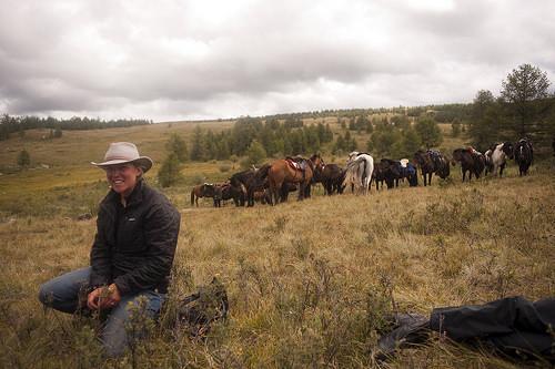mongolia horse trek, writing horseback, sarah cornellier, mongolia horseback riding