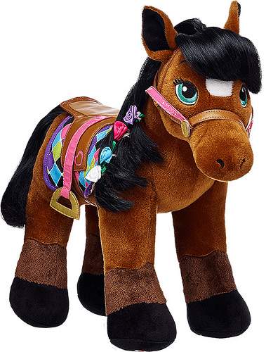build a bear, thoroughbred horse, horse, bay thorough