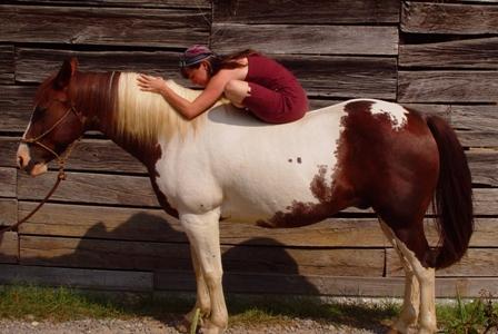 body mind equine, yoga on horseback, yoga of horsemanship, cathy woods
