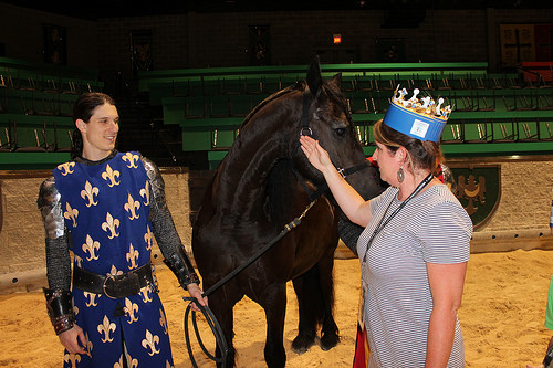back stage tour, medieval times, lawrenceville, georgia, horse, knight