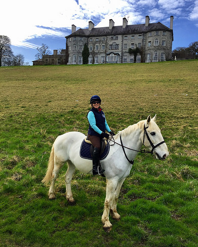 nancy d brown, horse riding kilkenny, equestrian holidays ireland, mount juliet estate