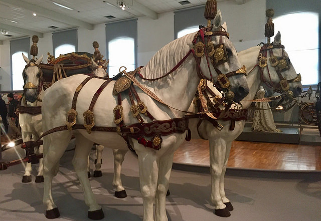 Horses Imperial Carriage Museum, Schonbrunn Palace640x480