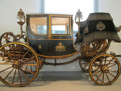 town carriage, carriage, imperial carriage museum, vienna, austria, schonbrunn palace,