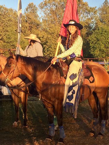 bridget mcclarrinon, rodeo queen, penn valley rodeo, miss penn valley rodeo, horse, california cowgirl