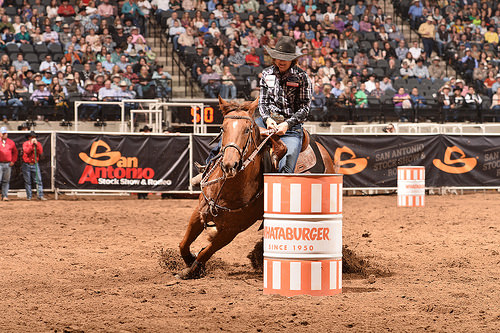 carmel wright, barrel racing, horse, cowgirl, san antonio rodeo, texas