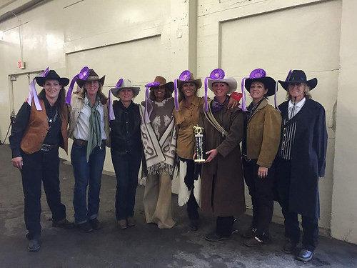christine shepherd, cowgirls, petaluma drill team, cow palace, california